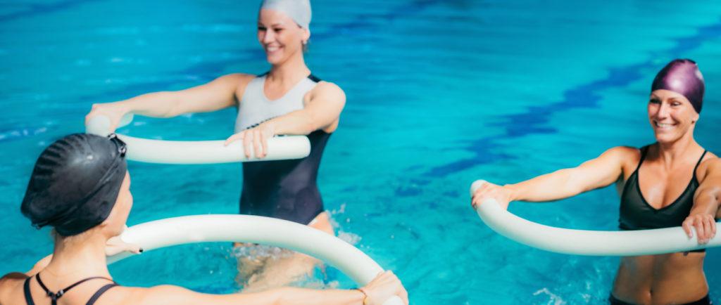 Les nombreux atouts des cours d'aquafitness