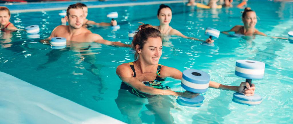 avantages des cours d'Aquagym