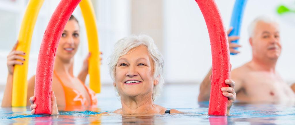 L' aquagym sport pour senior